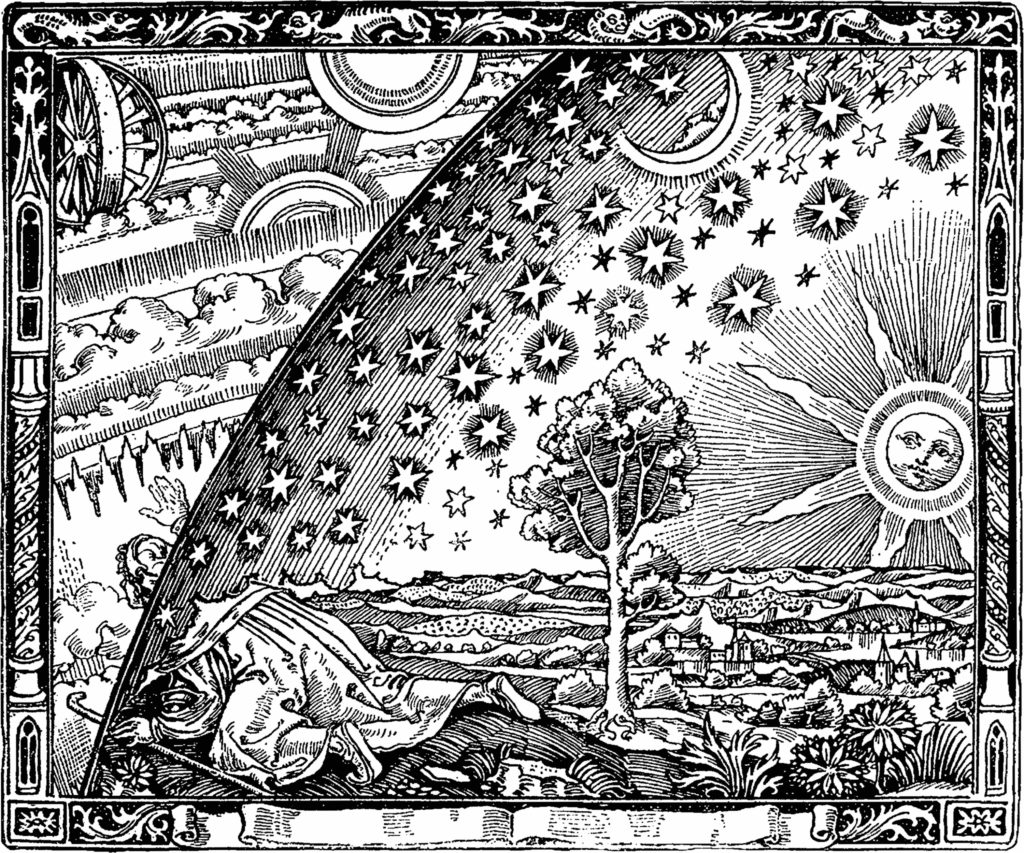 Flammarions-Holzstich