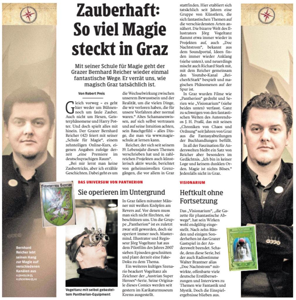Artikel Kleine Zeitung 24. 2. 2019