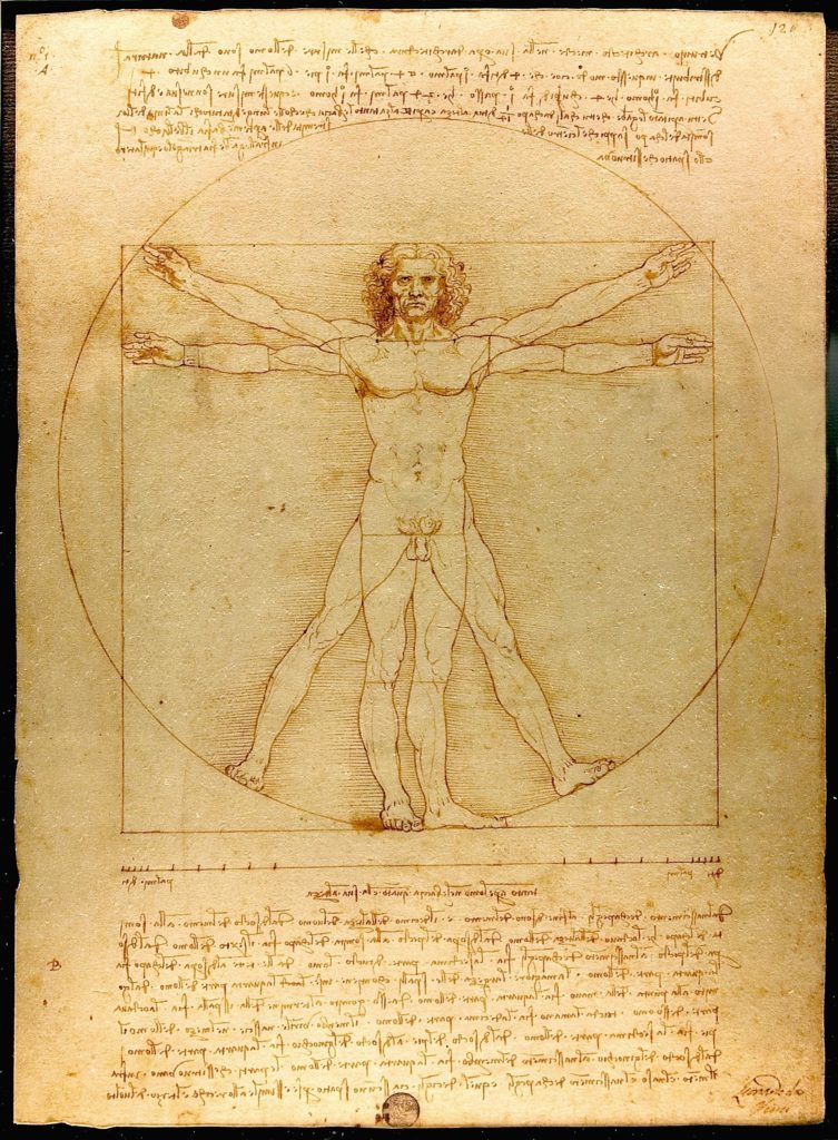 Leonardo da Vincis Vitruvianischer Mensch
